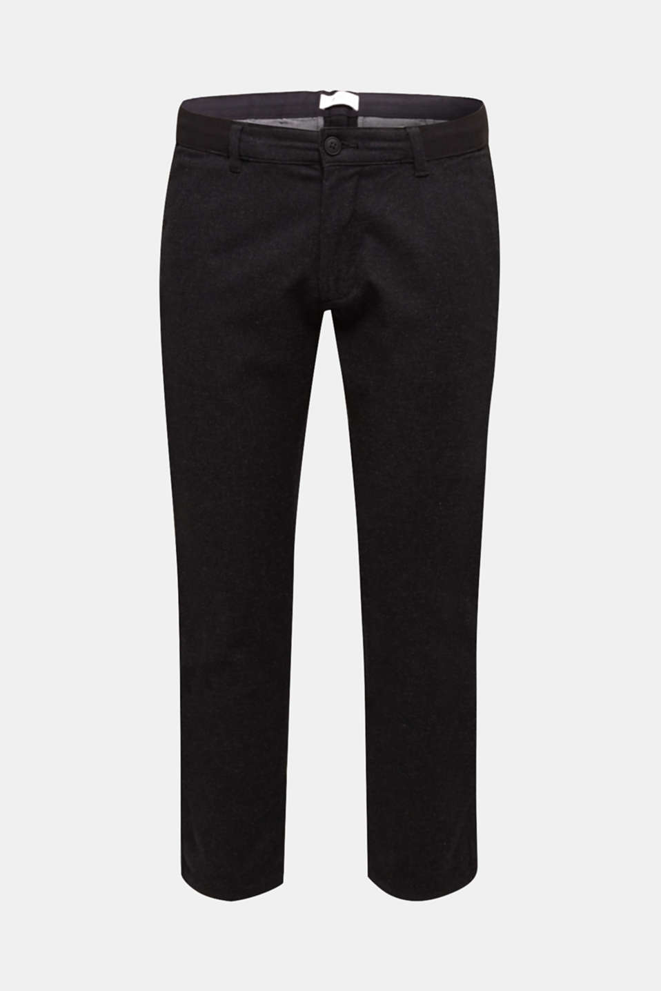 Pants woven Slim fit, ANTHRACITE, detail image number 5