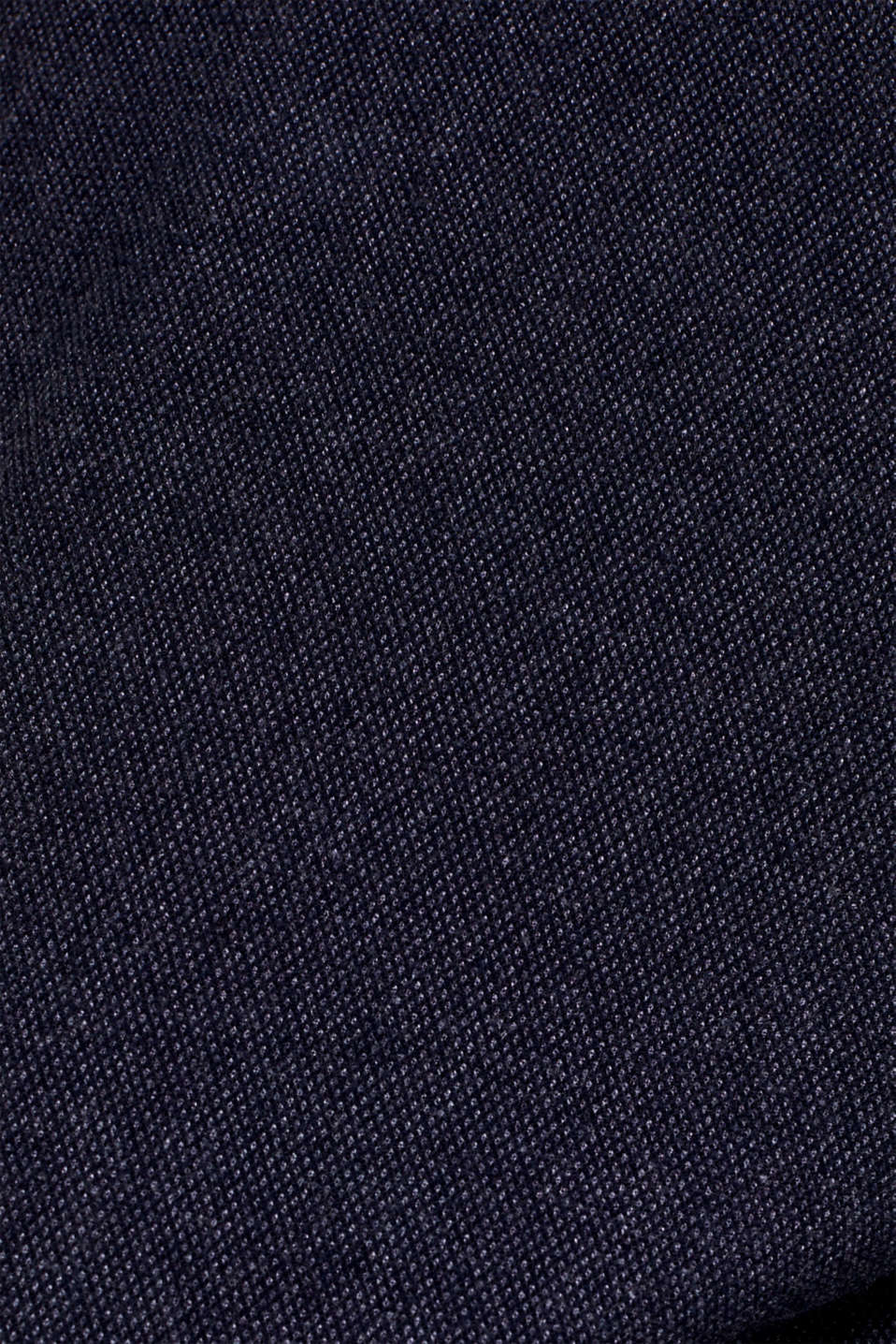 Cropped trousers with a drawstring waistband, NAVY, detail image number 4