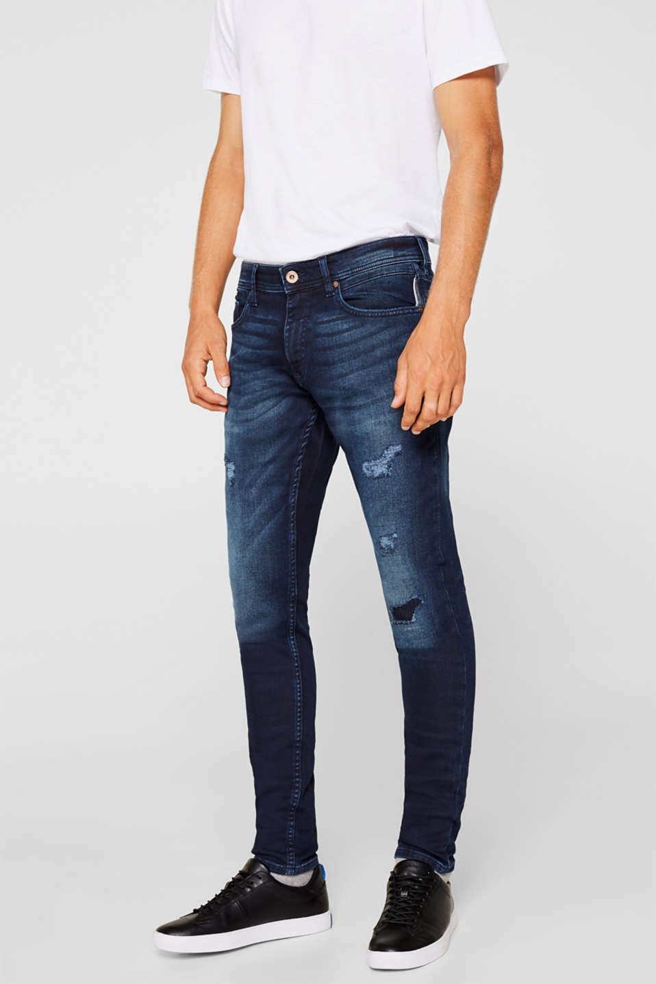 edc - Superstretch-Jeans in Jogger-Qualität