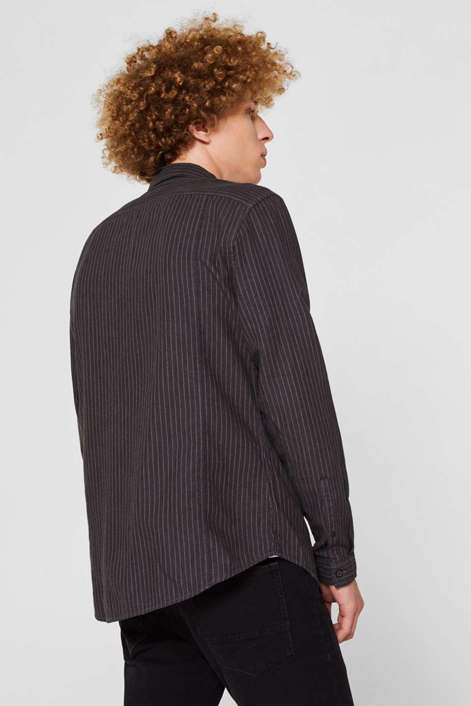 Shirts woven Slim fit, BLACK, detail image number 3