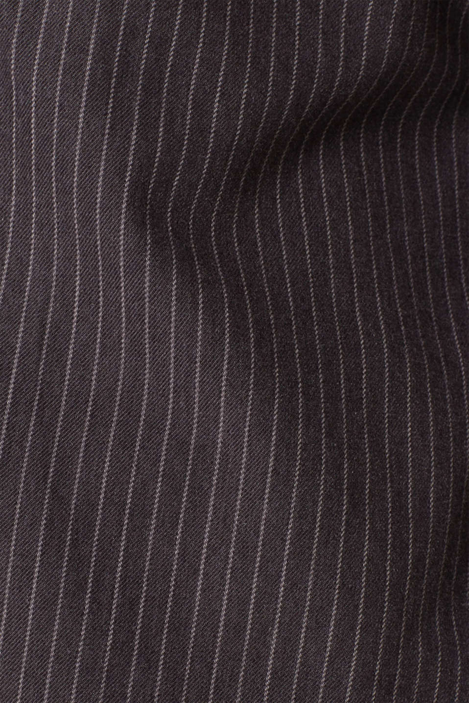 Top with pinstripes, 100% cotton, BLACK, detail image number 4