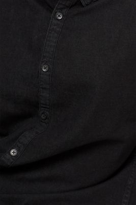 Denim shirt in 100% cotton