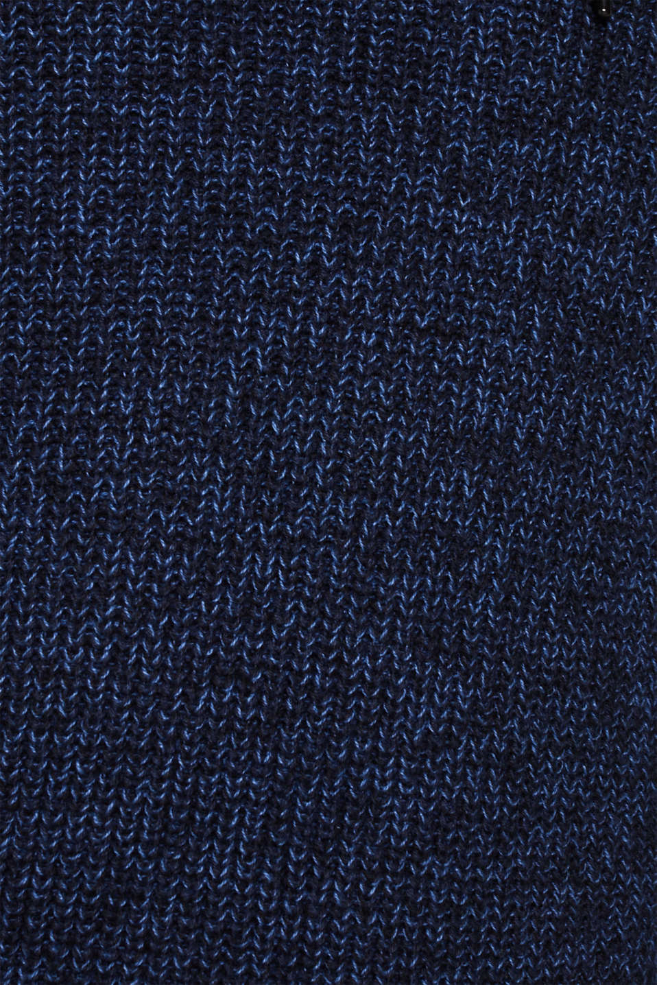 Knitted jumper with a drawstring collar, NAVY, detail image number 4
