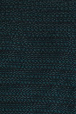 Jacquard jumper made of pure cotton