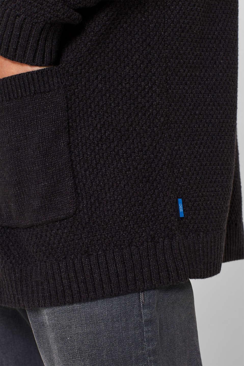 Sweaters, DARK GREY, detail image number 2