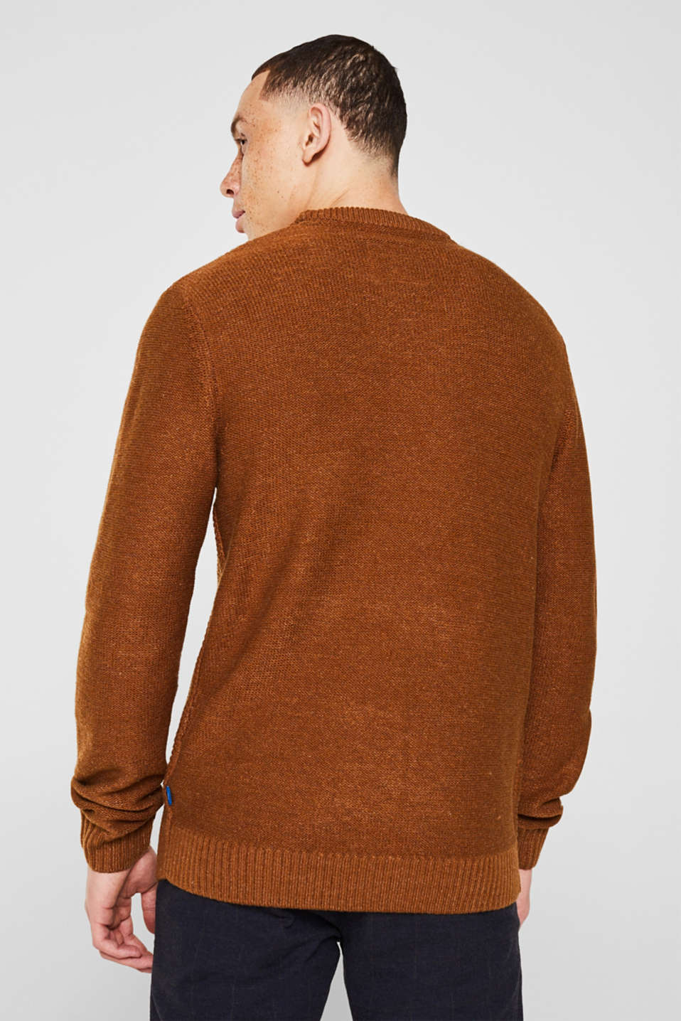 Sweaters, CAMEL, detail image number 3