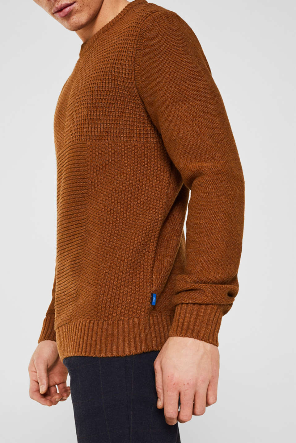 Sweaters, CAMEL, detail image number 2