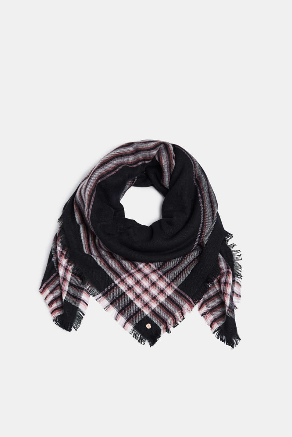 Esprit - Scarf with striped details