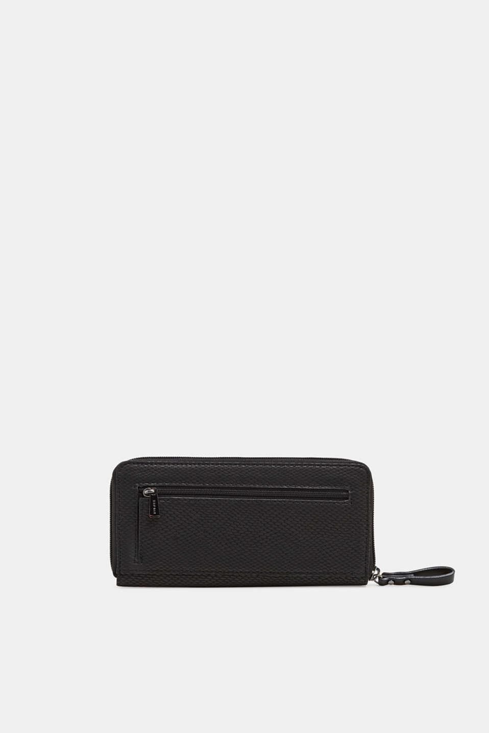 Wallet in an exotic look, BLACK, detail image number 2
