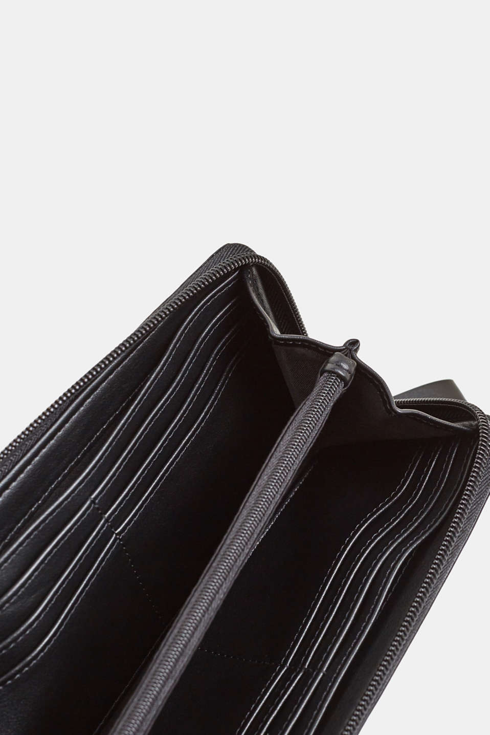 Wallet in an exotic look, BLACK, detail image number 3