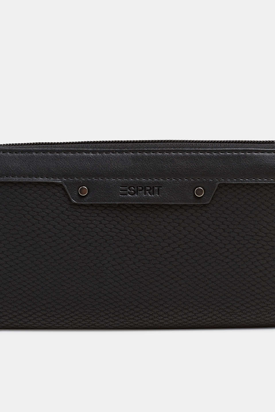 Wallet in an exotic look, BLACK, detail image number 1