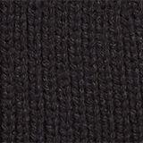 Rib knit beanie, BLACK, swatch