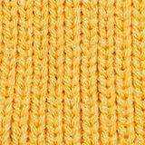 Rib knit beanie, YELLOW, swatch