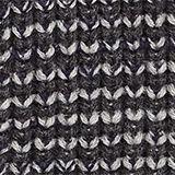 Textured knit beanie, DARK GREY, swatch