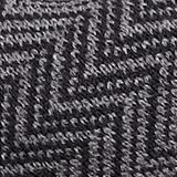 Scarf with a herringbone pattern, GREY, swatch
