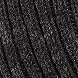Rib knit scarf, DARK GREY, swatch