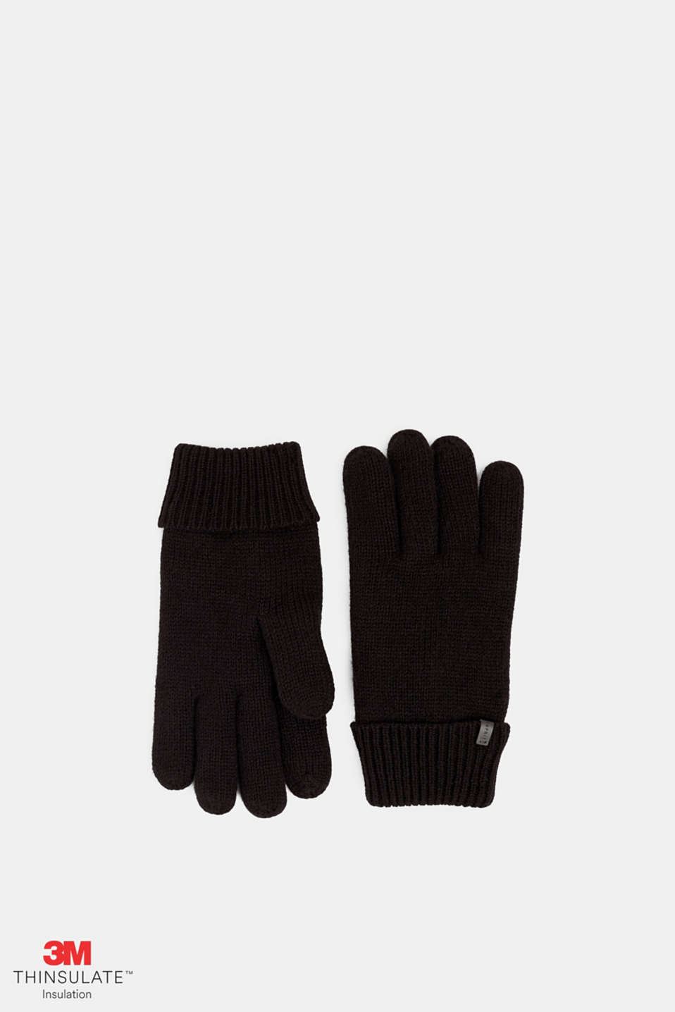 Gloves with 3M™ Thinsulate™ padding, BLACK, detail image number 0