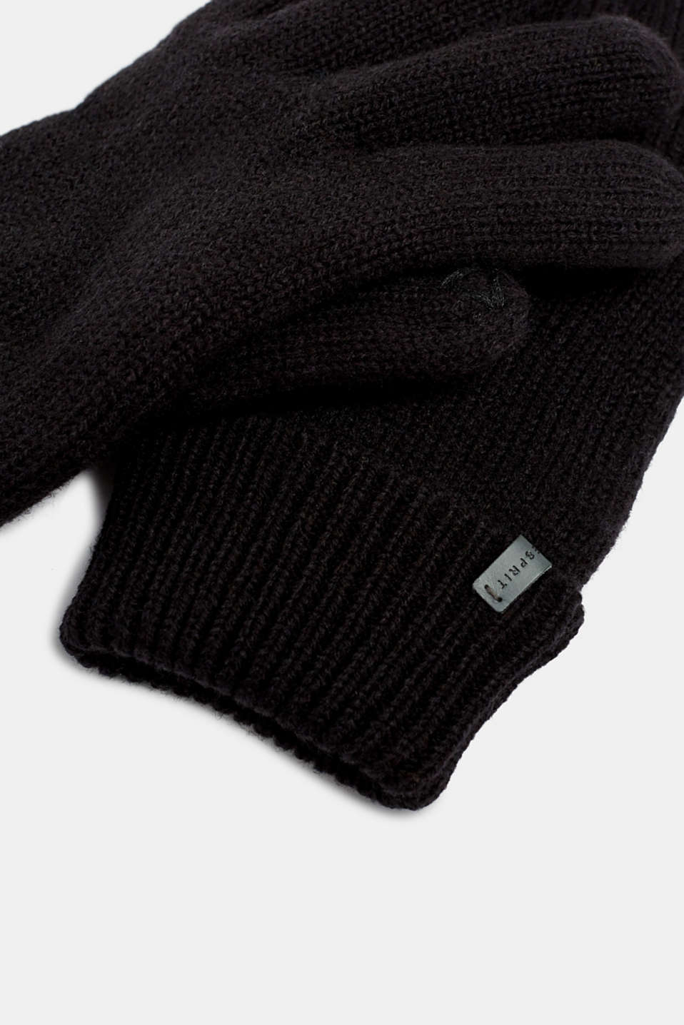 Gloves with 3M™ Thinsulate™ padding, BLACK, detail image number 1