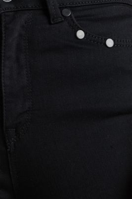 Shaping jeans with tonal studs, BLACK RINSE, detail