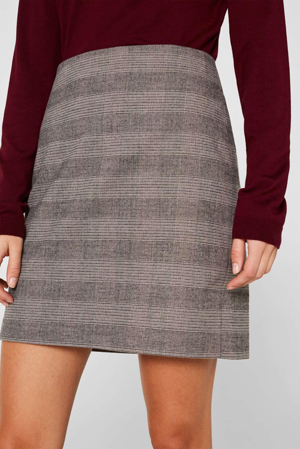Skirts woven, TAUPE, detail image number 2