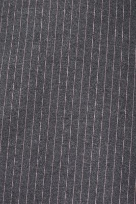 Flannel skirt with pinstripes, GUNMETAL, detail