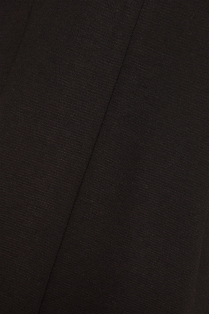 Stretch dress with a cut-out at the back, BLACK, detail image number 3