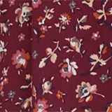 Tent blouse with a print, BORDEAUX RED, swatch