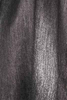 Metallic A-line top, SILVER, detail