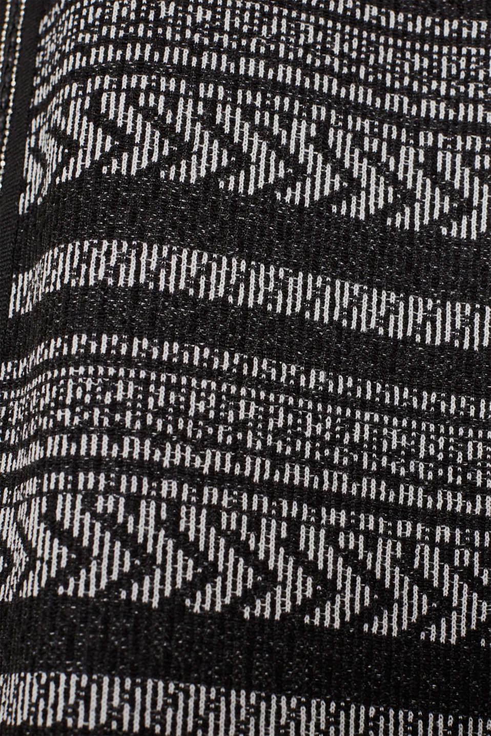 Jackets indoor knitted, BLACK, detail image number 4