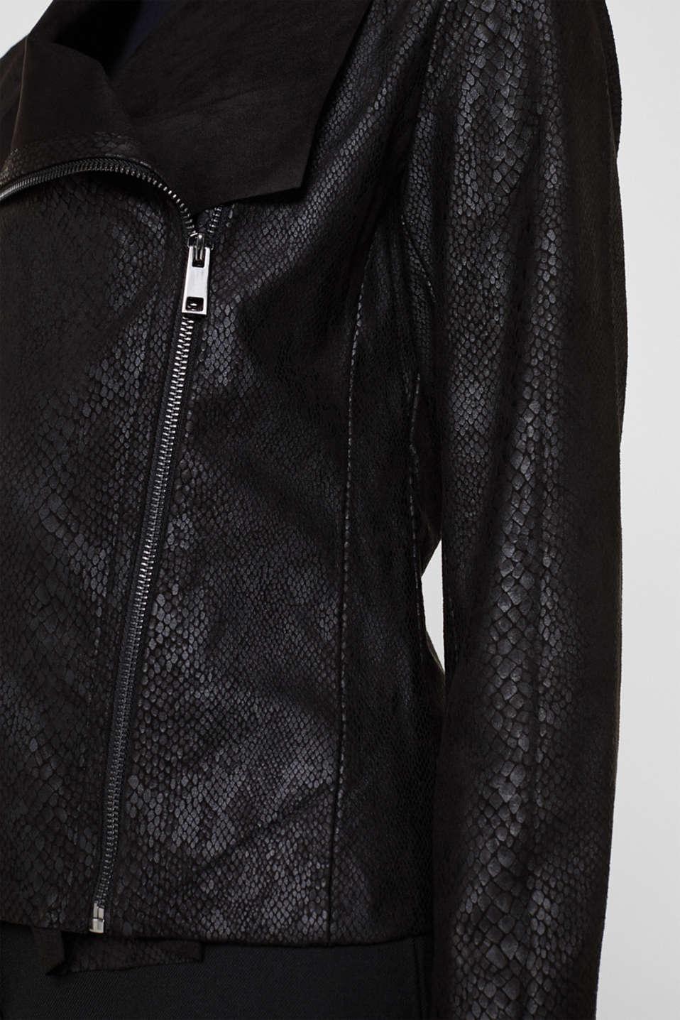 Jackets indoor woven, BLACK, detail image number 2
