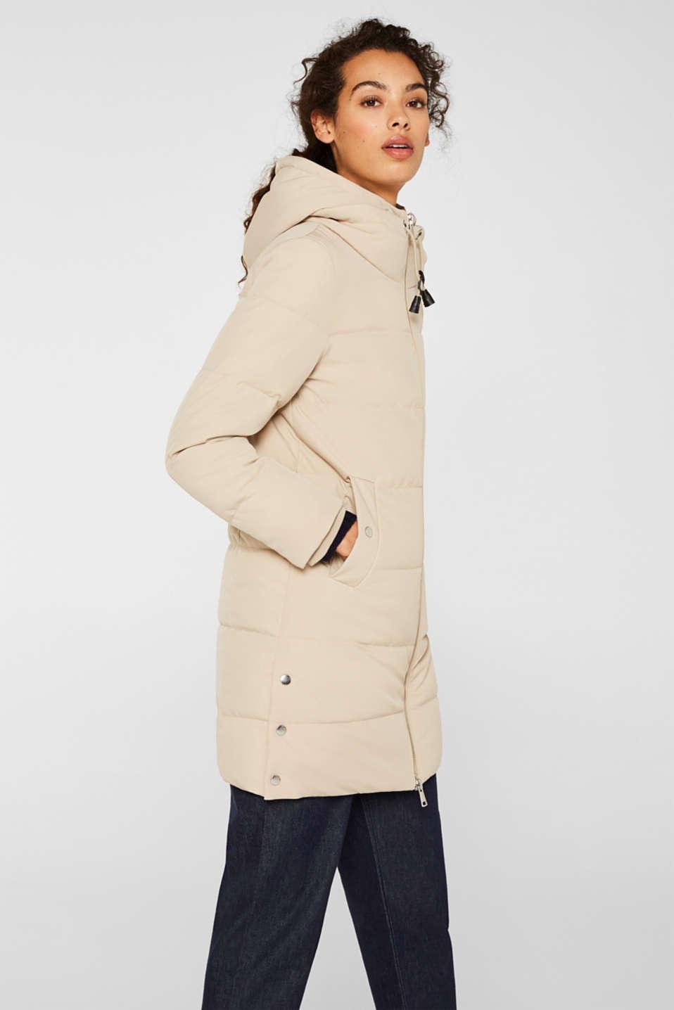 Coats woven, BEIGE, detail image number 6