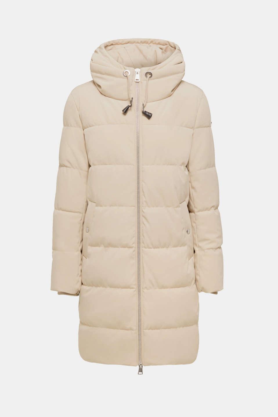 Coats woven, BEIGE, detail image number 8
