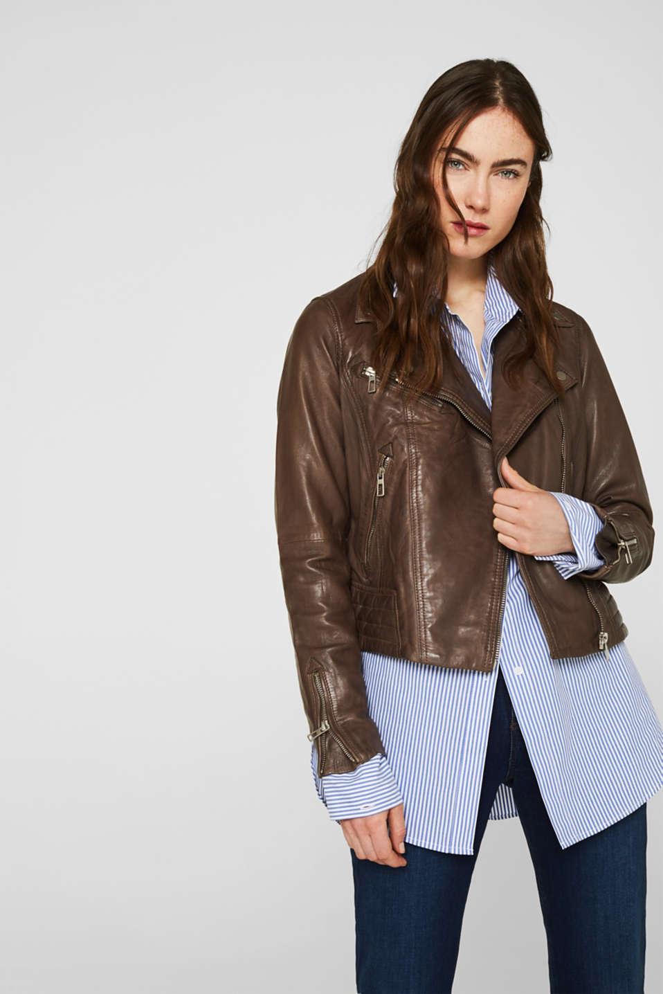Esprit: Vestes en cuir pour femme à acheter sur la Boutique