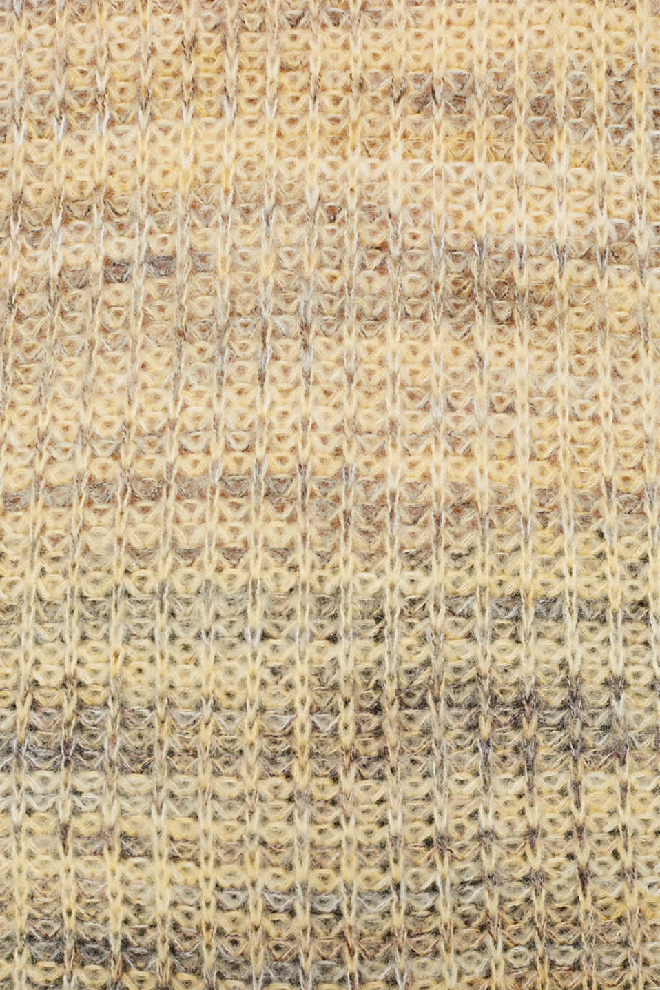 Melange jumper with wool/alpaca, DUSTY YELLOW 2, detail image number 4