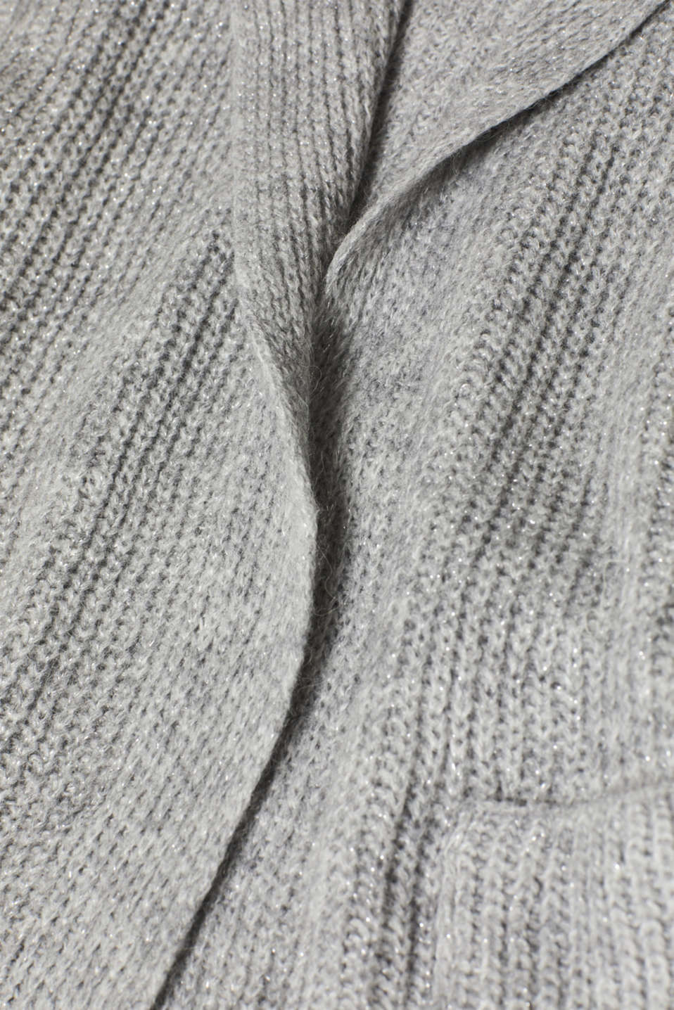 Sweaters cardigan, LIGHT GREY 2, detail image number 4