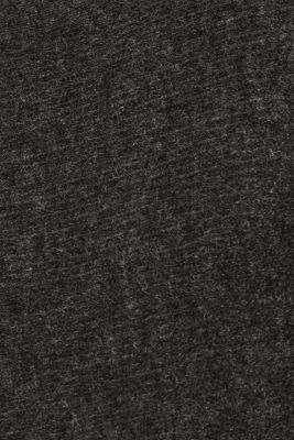 Wool blend: jumper with a decorative button placket