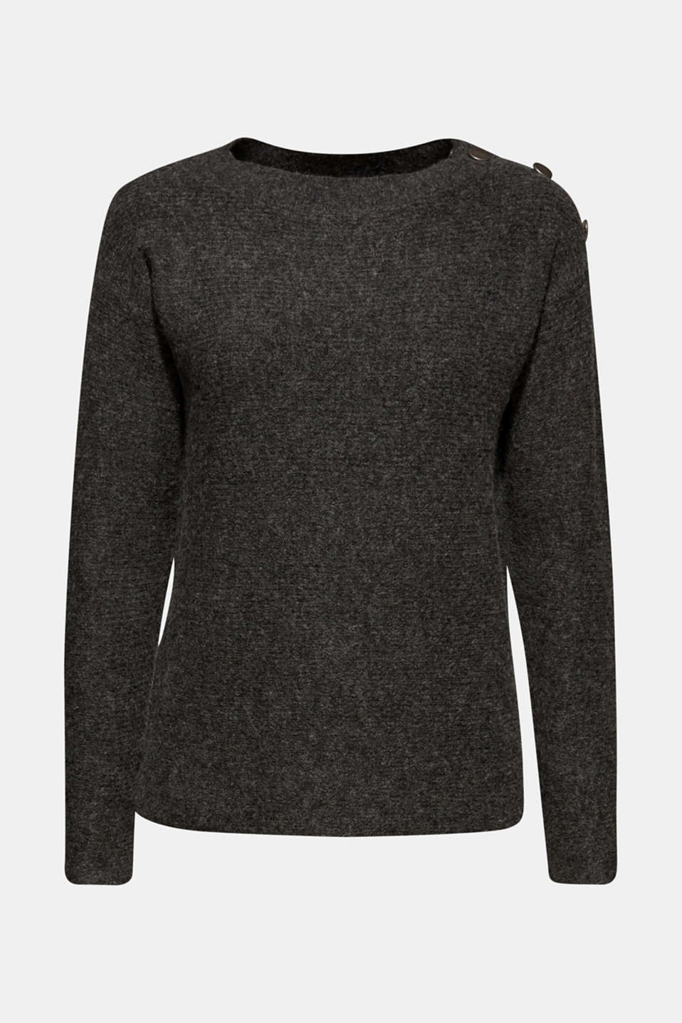 Sweaters, ANTHRACITE 5, detail image number 6
