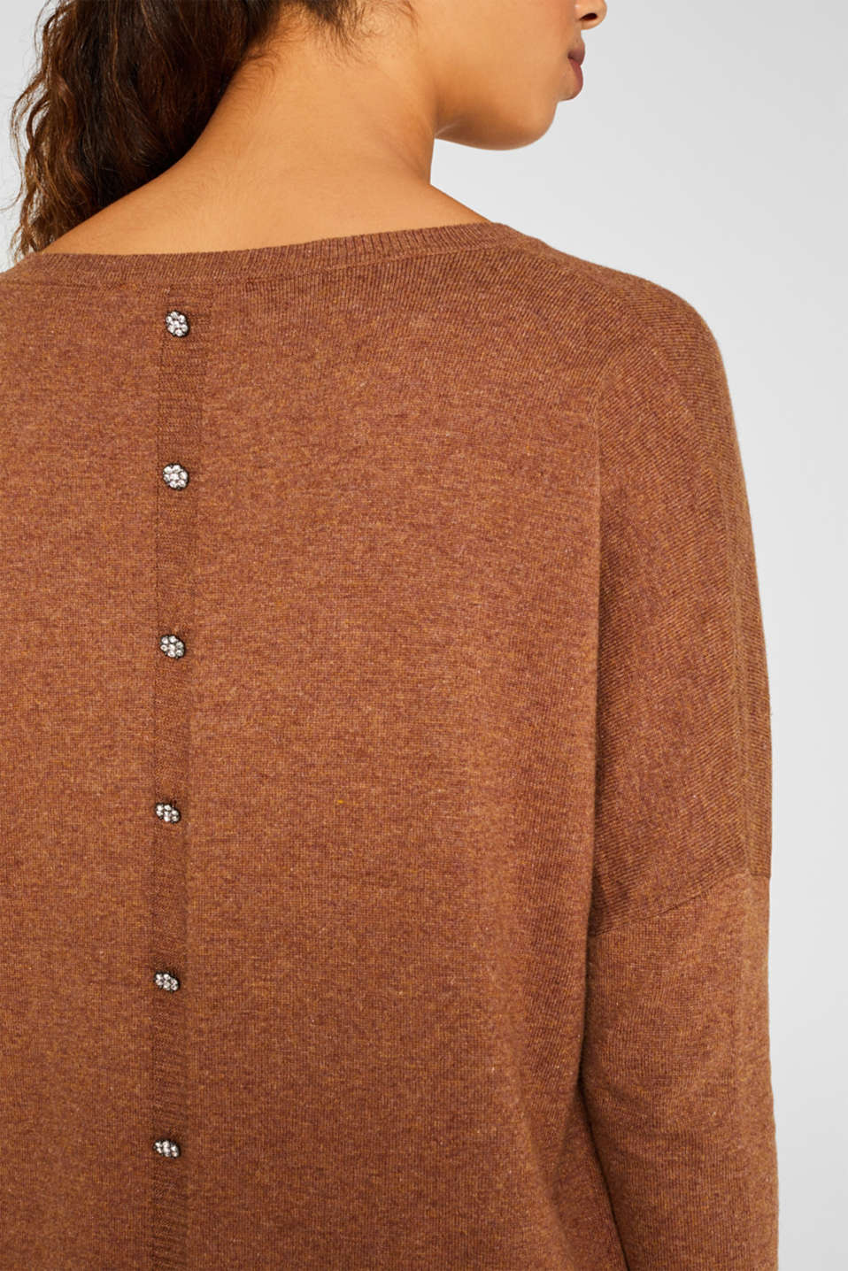 Sweaters, TOFFEE 5, detail image number 5