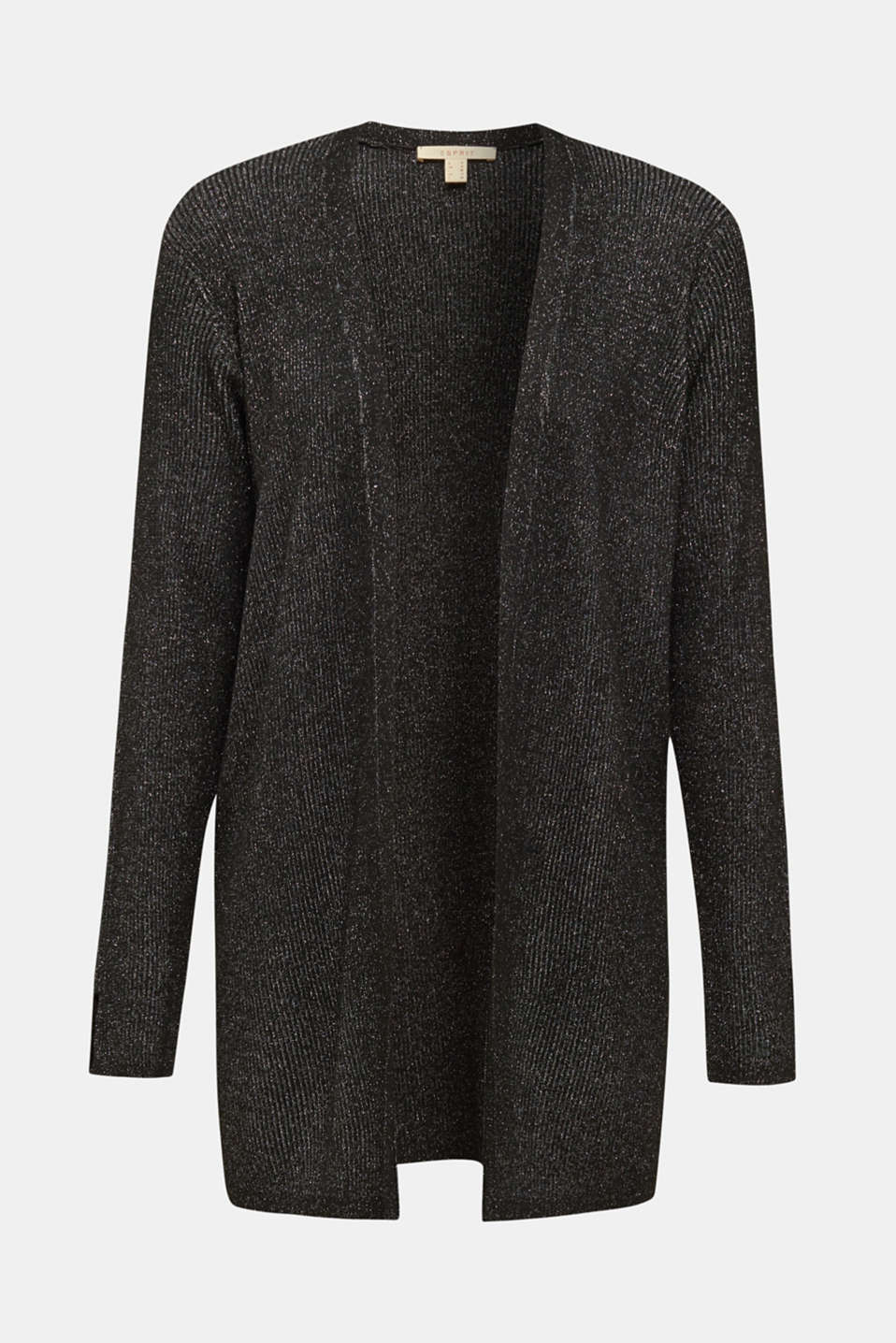 Sweaters cardigan, BLACK, detail image number 7