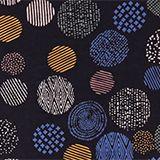 Slub jersey top with a print, 100% cotton, NAVY, swatch