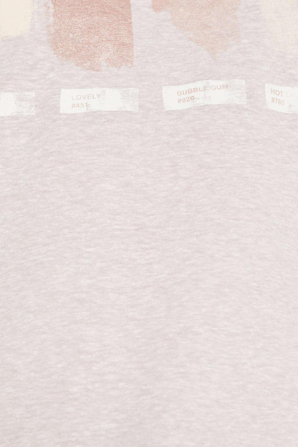 T-Shirts, PASTEL PINK 5, detail image number 4