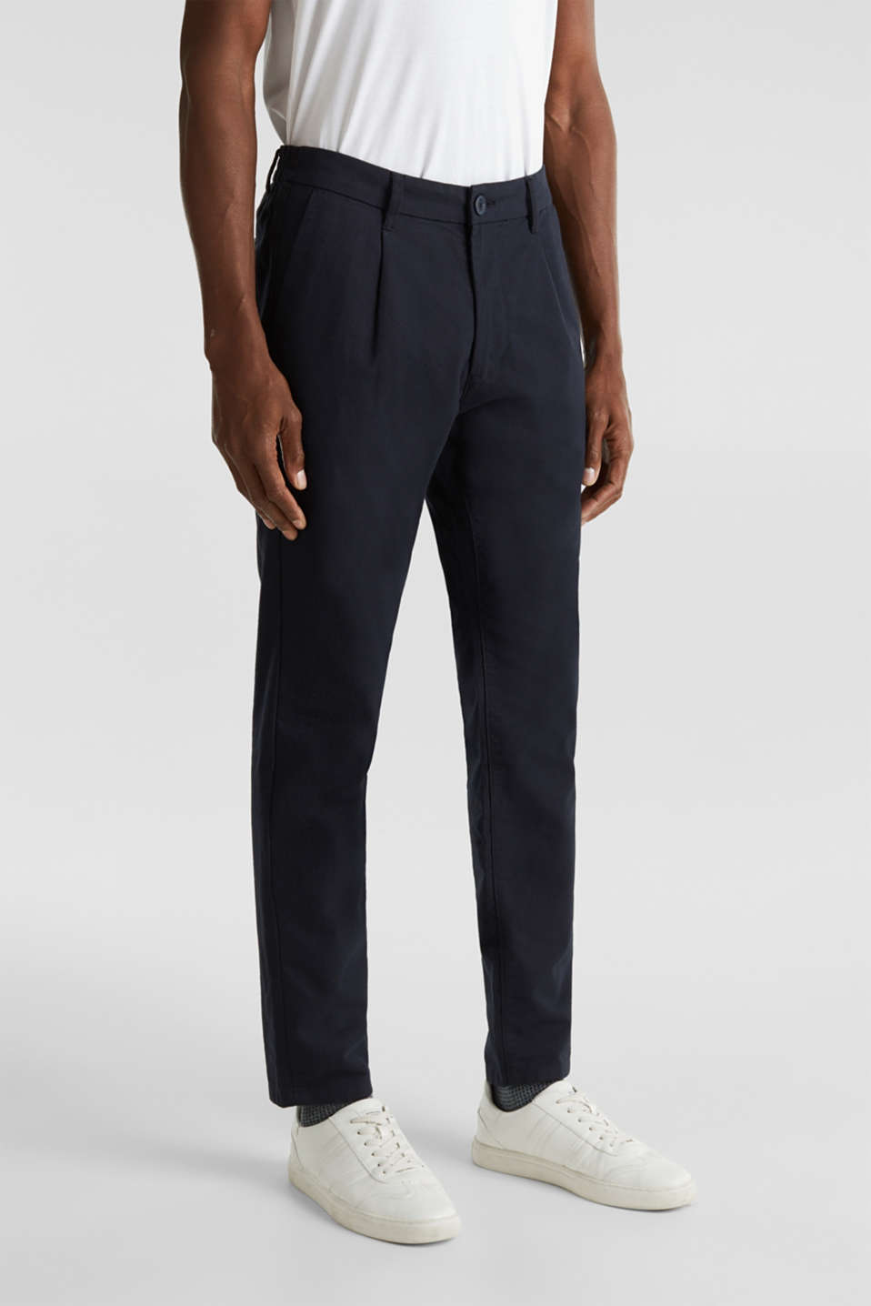 Esprit - Tweekleurige chino met stretch