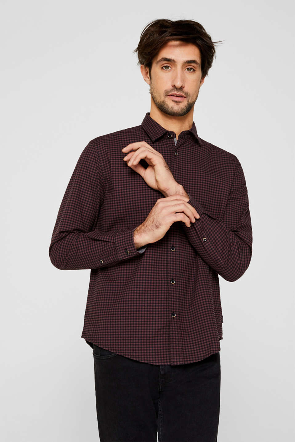 Esprit - Gingham check shirt