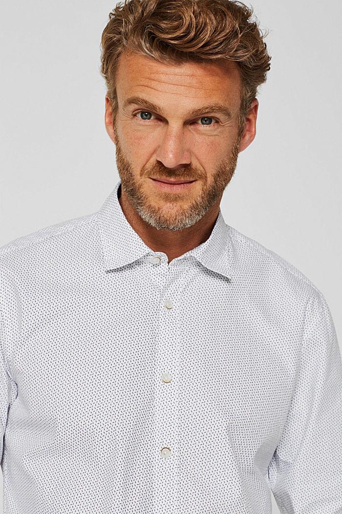Hemd mit Punkten, 100% Baumwolle