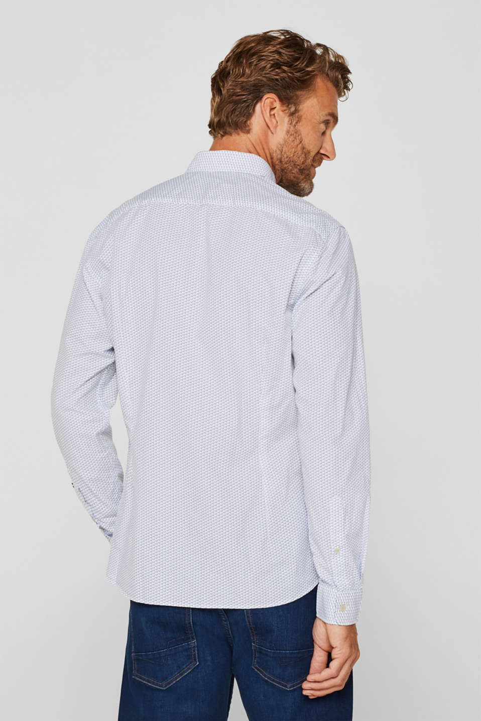 Shirts woven, WHITE, detail image number 3