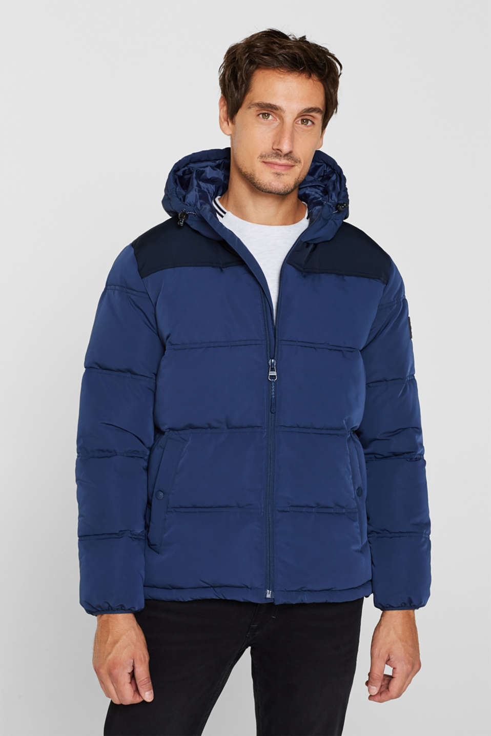 Jackets outdoor woven, BLUE, detail image number 0