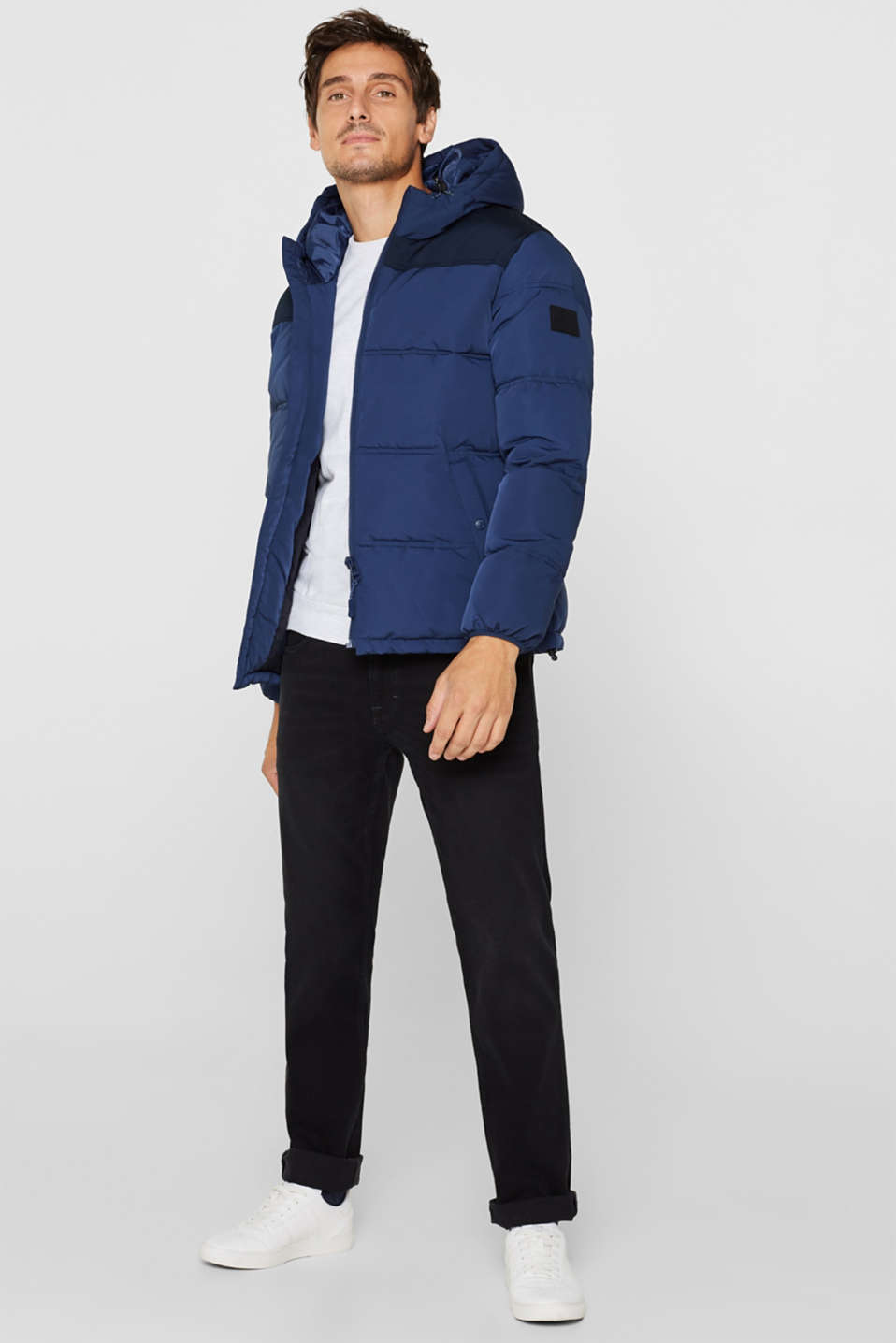 Jackets outdoor woven, BLUE, detail image number 1