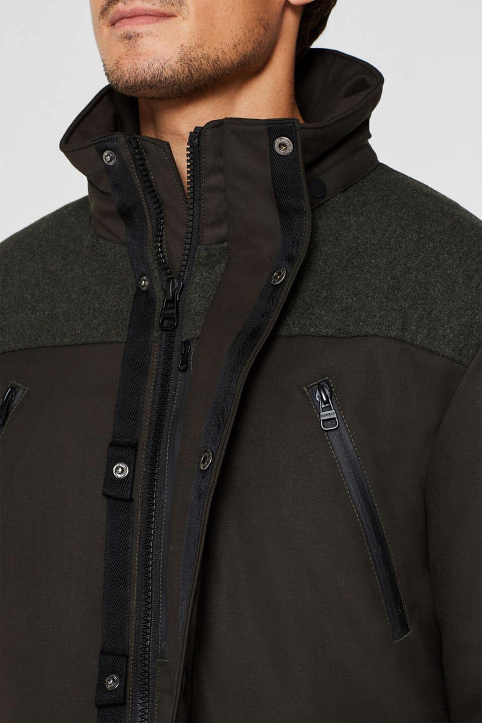 Jacket with 3M™ Thinsulate™ padding, DARK KHAKI, detail image number 2