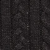 Jumper with a cable knit, 100% cotton, ANTHRACITE 5, swatch