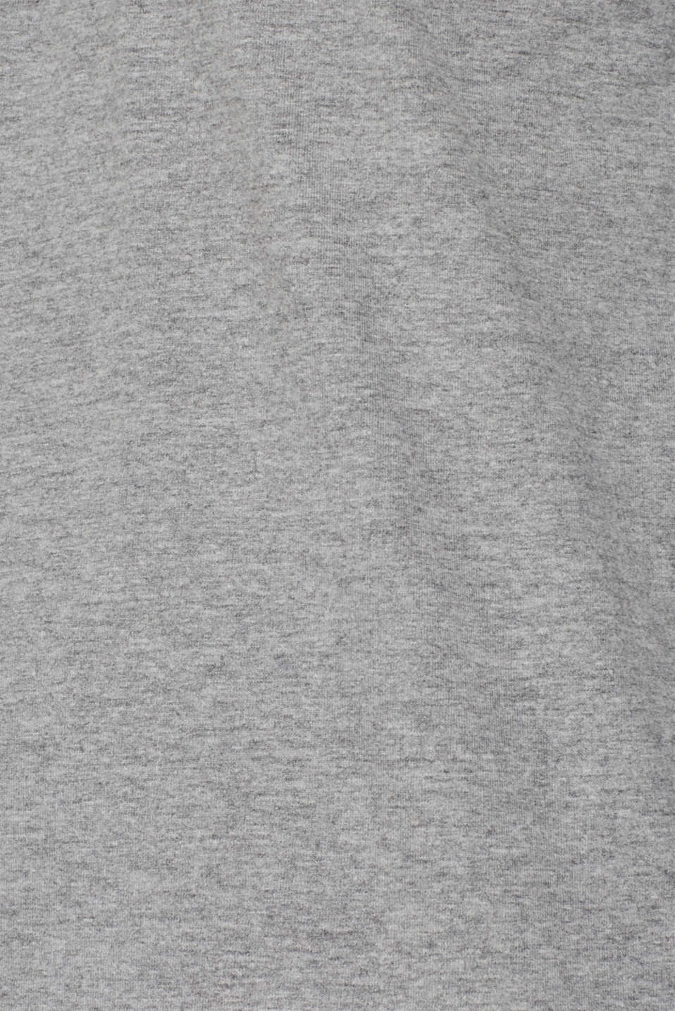 Jersey long sleeve top with a Henley neckline, MEDIUM GREY, detail image number 4